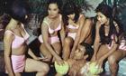 SEAN CONNERY & BOND GIRLS