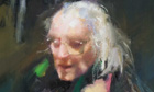 Portrait of Michael Foot by Robert Lenkiewicz