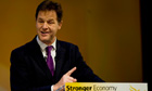 Annual Liberal Democrats Conference nick clegg