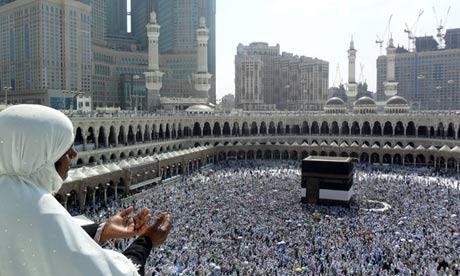 Hajj 2012 in Mecca, Saudi Arabia