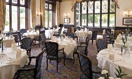 The restaurant at Orton Hall