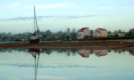 Woodbridge, tide mill at dawn, Suffolk, UK