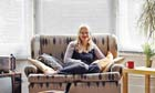 Sian Berry at home
