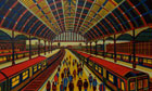 London Lives - longlist: A painting called Borough Market, by Anthony Dyson