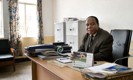 Dr Isaac Khama, patron of Chamwino