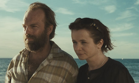 Hugo Weaving and Emily Watson in Oranges and Sunshine