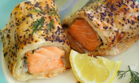 Salmon & herb