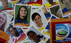 Panini stickers for the women's world cup