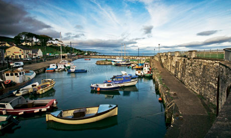 Dusk at Carnlough Harbour