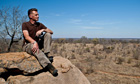 Chris Packham surveys the scenery on the last day of his South African adventure.