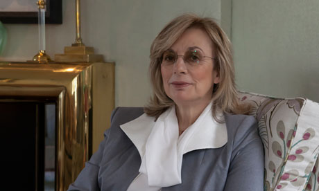 Nina Campbell in her home