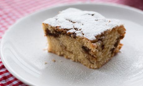 Coffee amaretto cake