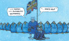 Steve Bell cartoon, 19.12.2012