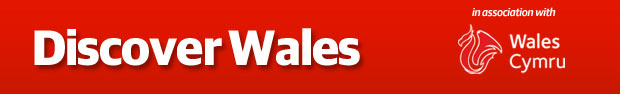 Discover Wales - badge
