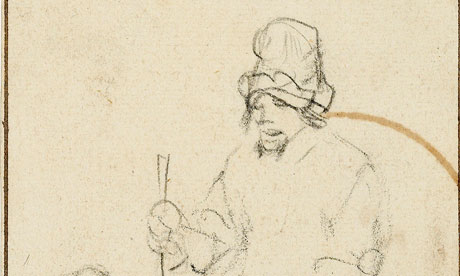 Rembrandt Drawing Found In Scottish Attic Art And Design