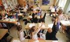 Class of schoolchildren