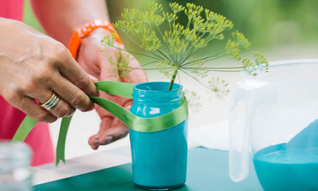 Create your own summer party table decorations | Brita - Taste of ...