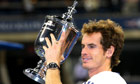 Andy Murray shows off his watch