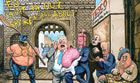 Steve Bell cartoon, 17.01.2013