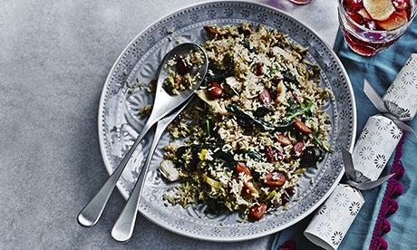 John Lewis: spiced turkey pilaf with fruit and nuts