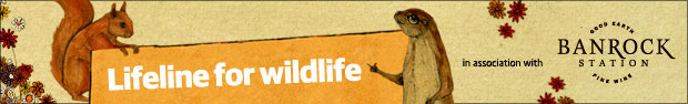 Lifeline for wildlife - Banrock Station badge
