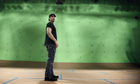 Robert Rodriguez on the set of his new short film