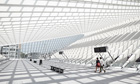 BTB: Calatrava's avant garde train station