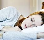 John Lewis: woman asleep in bed