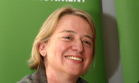 Green party new leader Natalie Bennett
