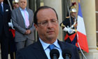 France could act on Syria without Britain, says Francois Hollande
