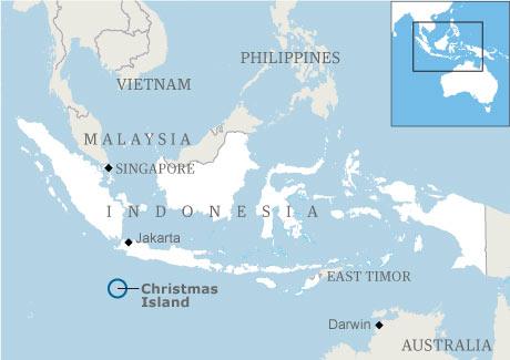 Asylum seekers die as boat sinks off Australia's Christmas Island   Australia news   The Guardian