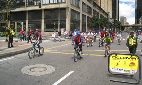 Ciclovia: easy riding on a Sunday in Bogota