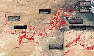 Afghanistan IEDs mapped