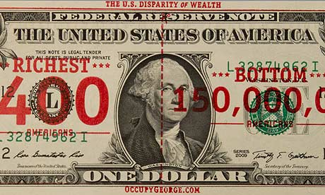 Occupy George dollar bill