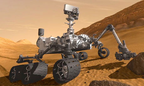 Mars Science Laboratory Rover vehicle