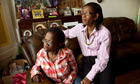 Cecilia Anim with her daughter Ruth