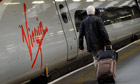 Virgin Rail train