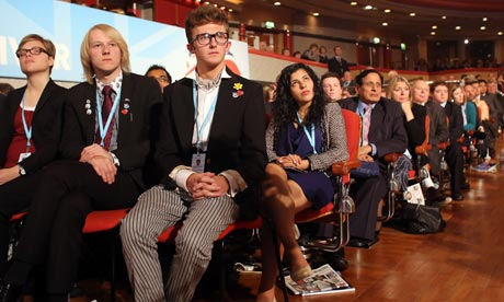 Delegates at the Conservative party conference