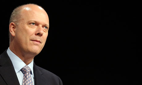 Chris Grayling at the Conservative party conference
