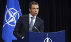 Nato backs Turkey in standoff with Syria