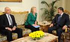Mohamed Kamel Amr, Hillary Clinton and Mohamed Morsi
