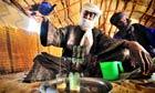 Tuareg tea ceremony