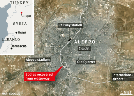 Syria Aleppo massacre