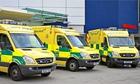 Ambulance dispatch times