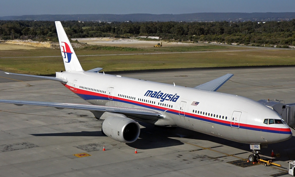 Malaysia Airlines Boein 011