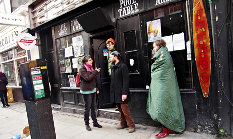 'Bohemians 4 Soho' occupy 12 Bar Club on Denmark Street - London