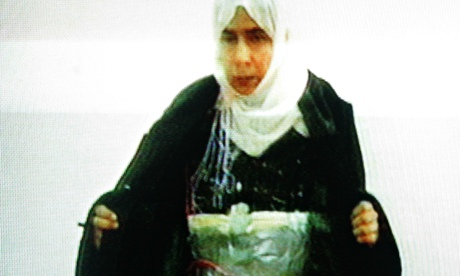 The female suicide bomber Isis wants freed in return for Japanese hostage