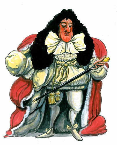 Kings and Queens: Charles II fathered 17 children with 14 mistresses, but none with his wife
