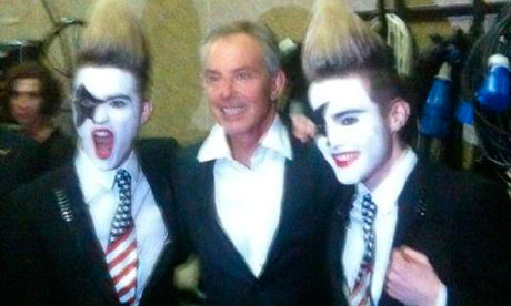 Tony Blair and Jedwood