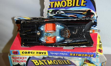 The rare Batmobile model worth hundreds of pounds damaged by Lola, the dog